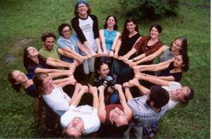 Canada's Youth Summit Team - October 2001