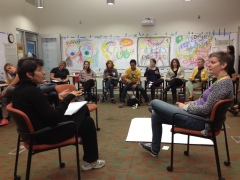 Assisting a facilitation challenge using the Samoan Circle.