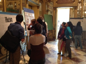 People loved the poster sessions. We had a scavenger hunt at one to encourage people to find each other!